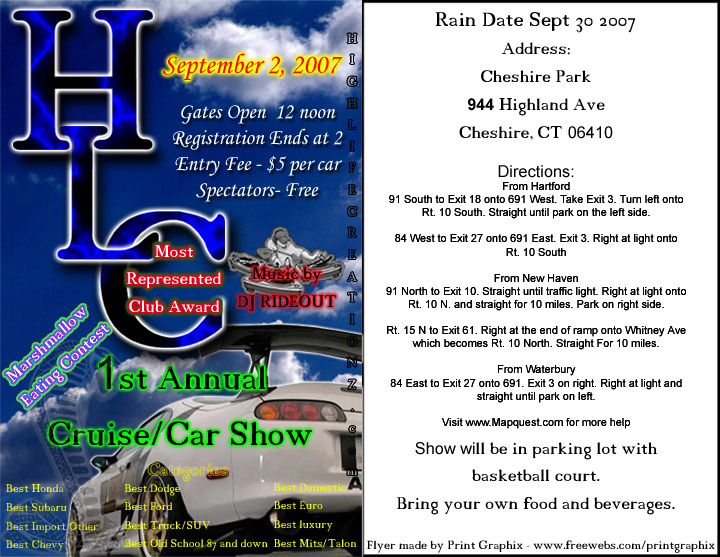 HLC Cruise/Show 08 -